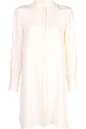 Partow Hemdkleid mit Mandarinkragen