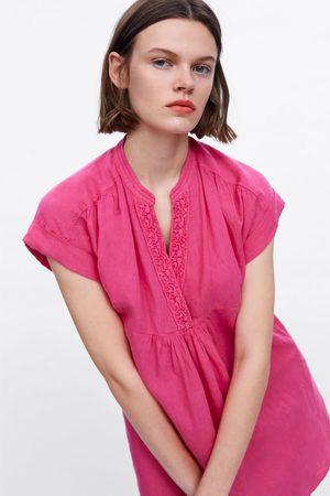 Zara Kleid mit knopfleiste