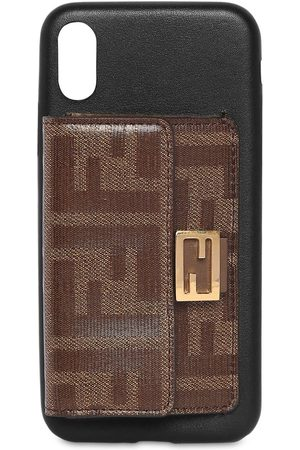 Fendi Leather I Phone X Cover