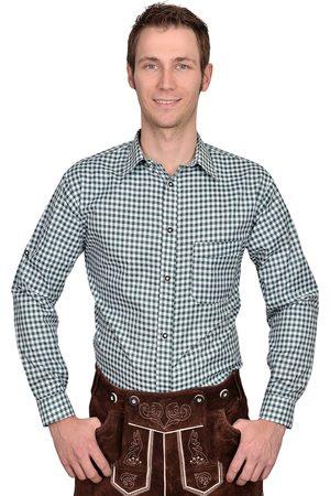 Edelnice Herren Trachtenhemden - Trachtenhemd Hemd kariert