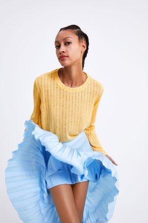Zara Shirt mit asymmetrischen ärmeln