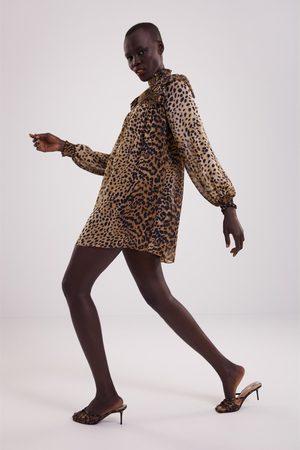 Zara Kleid mit animalprint