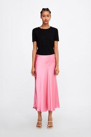Zara Shirt mit rippenmuster
