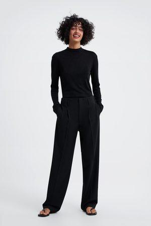 Zara Damen T-Shirts, Polos & Longsleeves - Weiches shirt