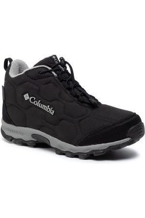 Columbia Youth Firecamp Mid 2 Wp BY1201 Black/Monument 010