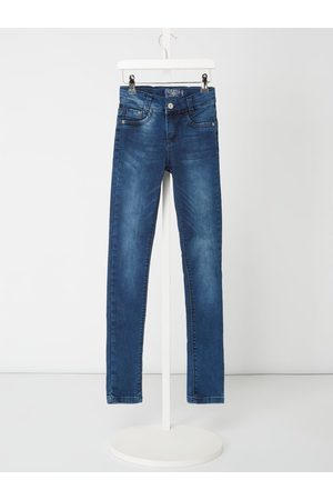 Blue Effect Stone Washed Slim Fit Jeans