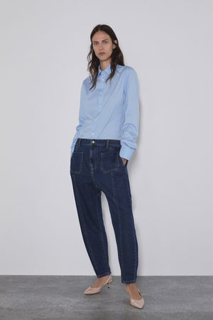 Zara Jeans z1975 baggy taschen