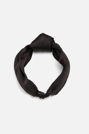 Zara Satiniertes turban-haarband