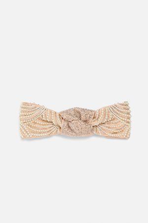 Zara Haarband mit schmucksteinen und perlen
