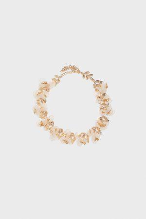 Zara Halskette mit blumen – sonderedition