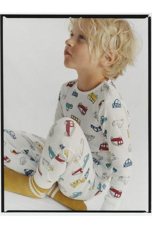 Zara Pyjama mit automotiven