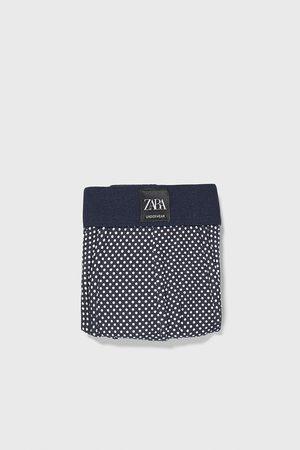 Zara Boxershorts mit tupfenmuster