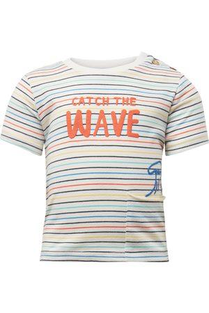 Tom Tailor T-Shirts, Polos & Longsleeves - TOM TAILOR Baby Gemustertes T-Shirt, , gemustert, Gr.50/56
