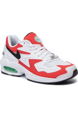 Nike Schuhe - Air Max2 Light AO1741 101 White/Black/Habanero Red