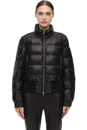 DROME Leather Down Jacket