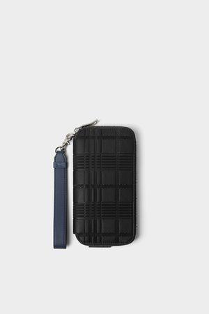 Zara Grosse elegante brieftasche in