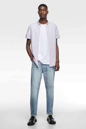 Zara Pikee-hemd mit print