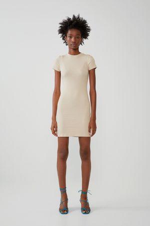 Zara Damen Freizeitkleider - Basic-kleid