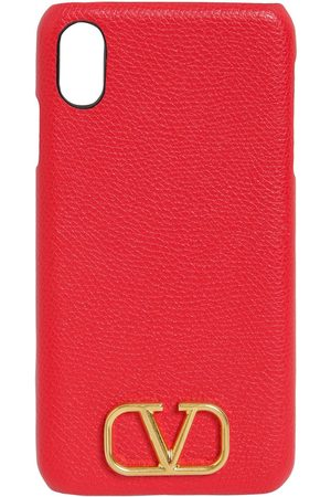 VALENTINO GARAVANI Grained Leather Iphone Xs Case