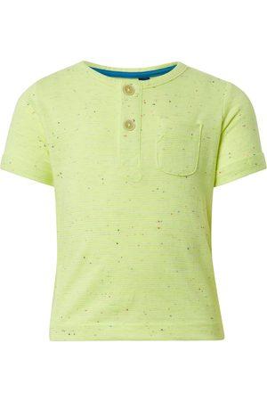 Tom Tailor TOM TAILOR Baby Neon Henley T-Shirt, , gemustert, Gr.50/56
