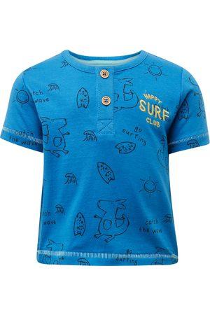 Tom Tailor TOM TAILOR Baby Henley T-Shirt mit Print, , gemustert, Gr.50/56