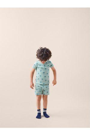 Zara Schlafanzug mit print