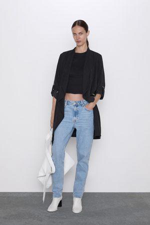 Zara Fliessender mantel