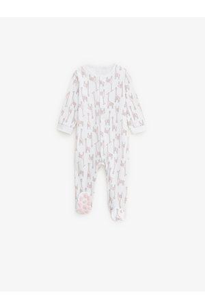 Zara 2er-pack schlafanzüge mit giraffe