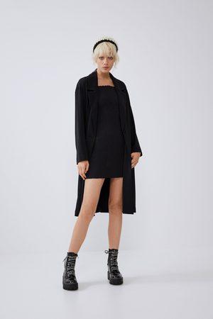 Zara Damen Mäntel - Langer fliessender mantel