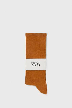 Zara Herren Socken & Strümpfe - Socken mit rippenmuster