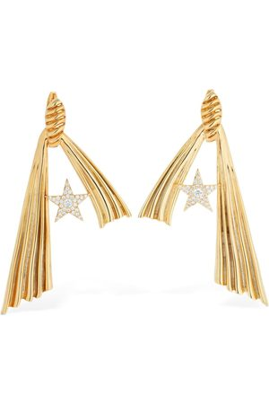 ATTICO Amore Star Crystal Earrings