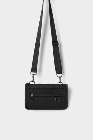 Zara Mini combinable belt bag in black