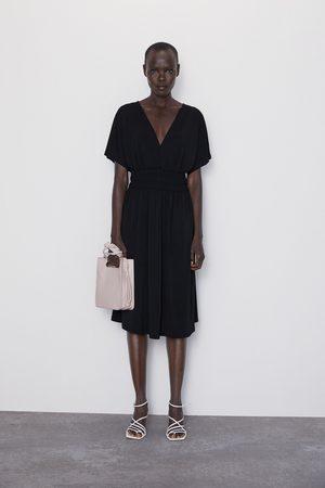 das beste amazon Schuhwerk Kleid mit elastischer taille