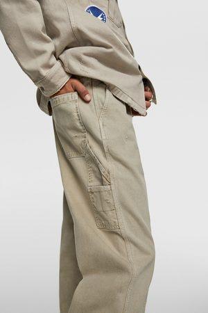 Zara Jeans im worker-stil