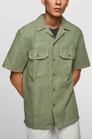 Zara Herren Taschen - Hemd mit taschen