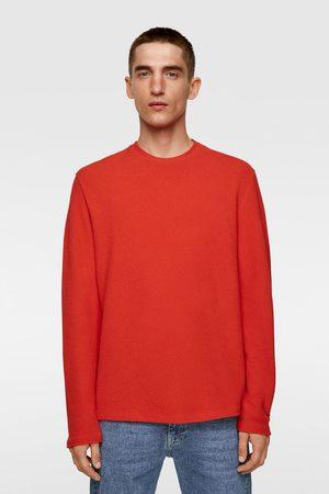 Zara Herren Pullover - Ottomane-pullover mit strukturmuster