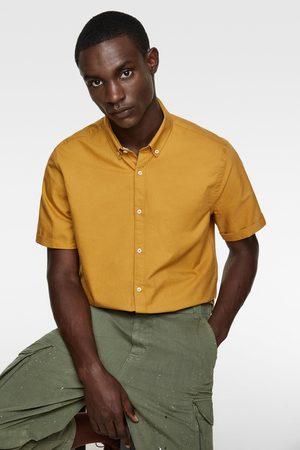 Zara Oxfordhemd mit kurzen ärmeln