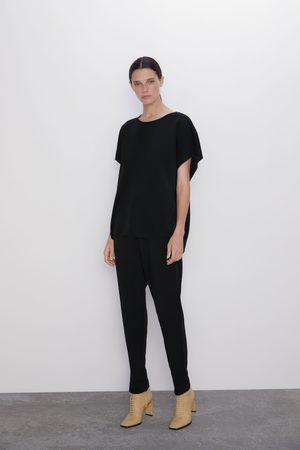 Zara Damen Hosen & Jeans - Hose mit elastischem bund