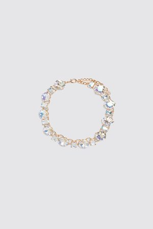 Zara Halskette mit schmucksteinen