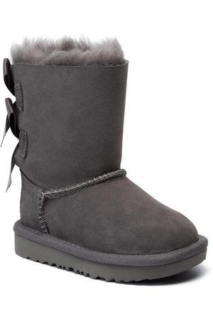 UGG Mädchen Stiefel - Schuhe - T Bailey Bow II 1017394T Grey