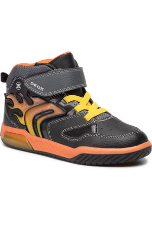 Geox Sneakers - J Inek B. C J949CC 0BU11 C0749 D Black/Orange