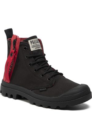 Palladium Trapperschuhe - Pampa Unzipped 76443-008-M Black