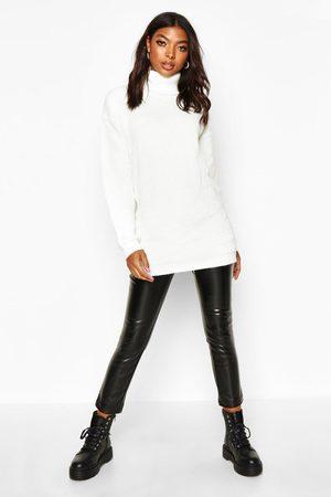 Boohoo Womens Tall Pullover Mit Rollkragen - - 32