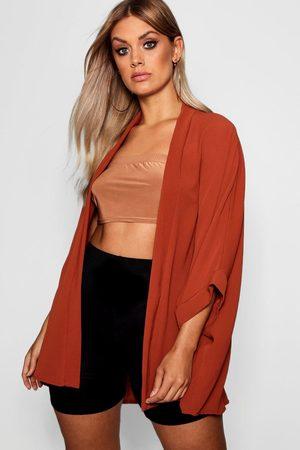 Boohoo Womens Plus gewebter Kimono - - 42