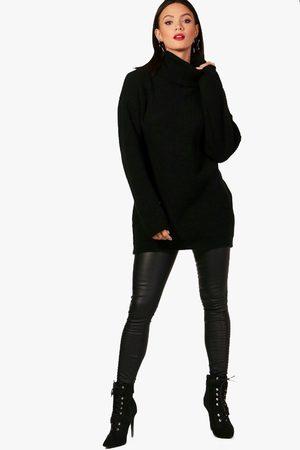 Boohoo Womens Tall Pullover Mit Rollkragen - - 34