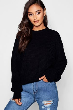 Boohoo Womens Petite Ivy Oversized Pullover - - 30
