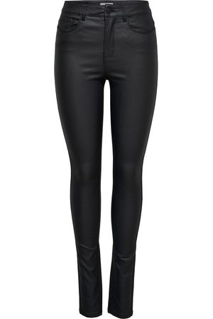 Only Onlanne Mid Coated Skinny Fit Jeans Damen