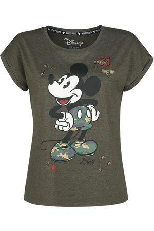 Micky Maus Damen T-Shirts, Polos & Longsleeves - Military T-Shirt khaki