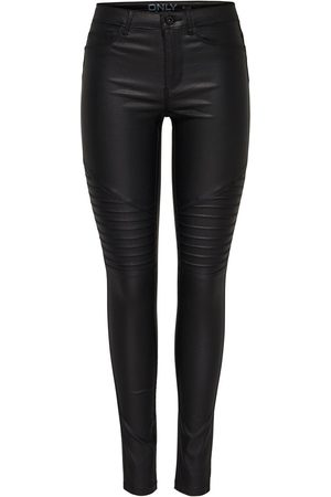 Only Onlnew Royal Coated Biker Skinny Fit Jeans Damen