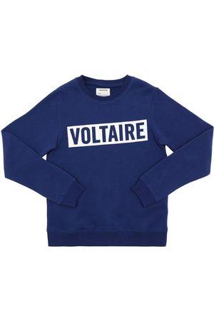 Zadig & Voltaire Sweatshirt Aus Baumwollmischung Mit Logo